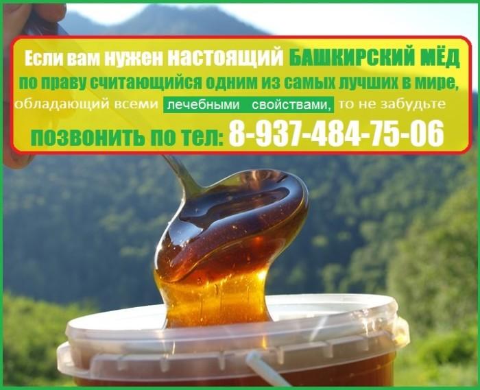 башкирский мед польза