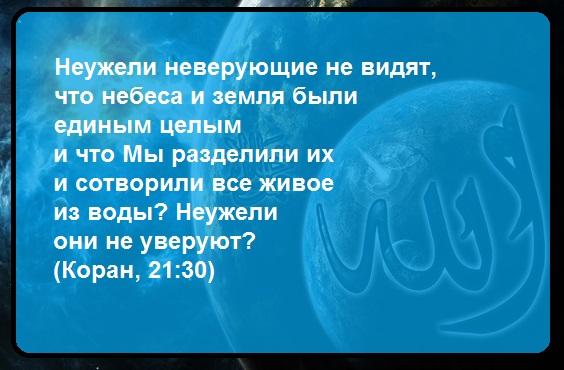 Есть ли Бог, существование Бога, Коран