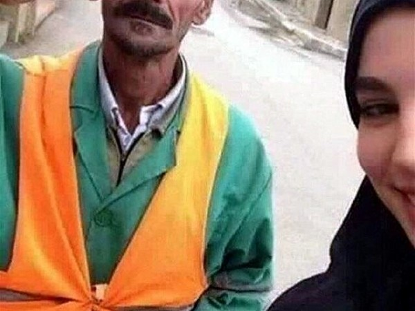 Мусульманка из Алжира с оцом