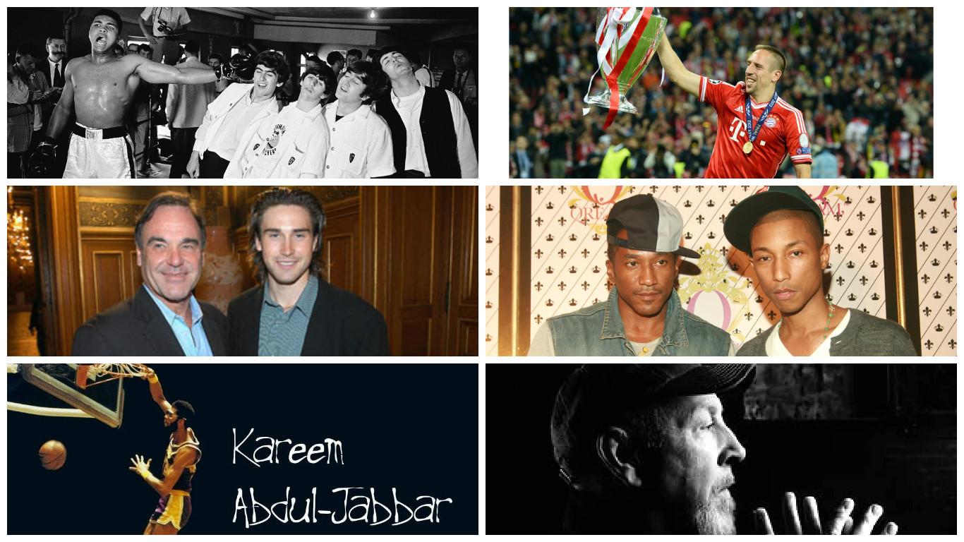 Известные знаменитости принявшие Ислам