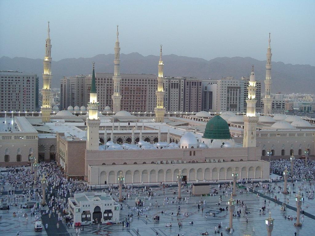 Мечеть ан-Набави в Медине