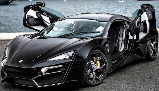 W Motors Lykan Hypersport дорогая по стоимоти