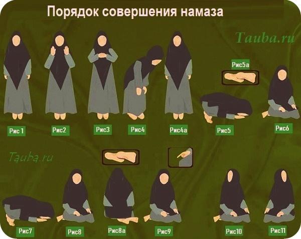 Как читать утренний намаз женщине в Москве