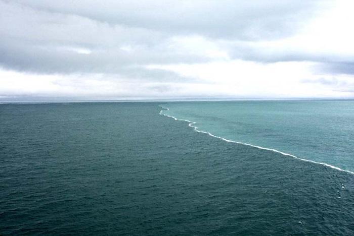 Место где встречаются тихий и атлантический океаны