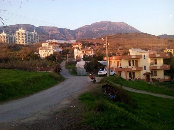 Аланья, Махмутлар, горы Торос